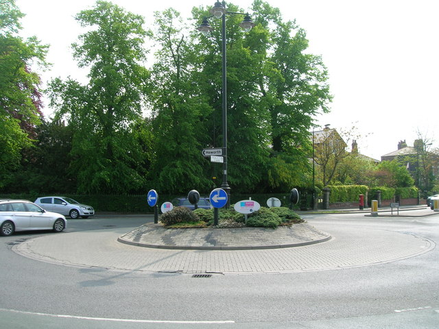 Roundabout on Malton Road