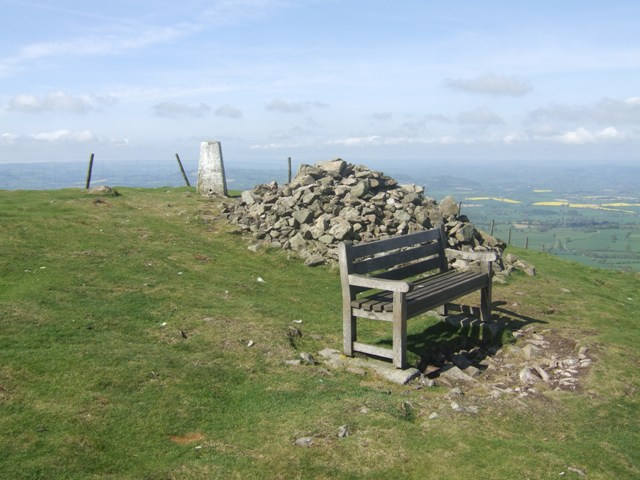 Summit of Corndon Hill