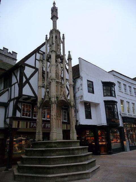 Winchester - City Cross © Chris Talbot :: Geograph Britain ...