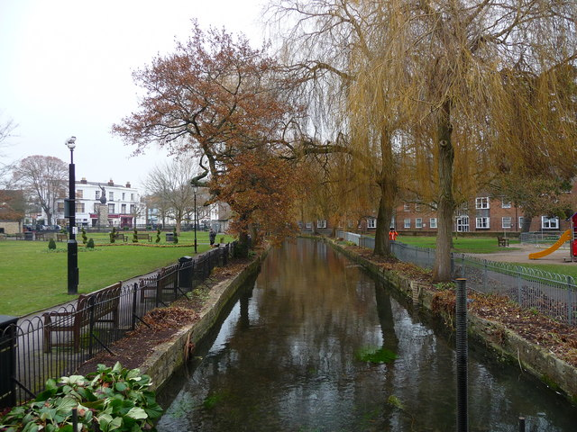 Winchester -The River Itchen