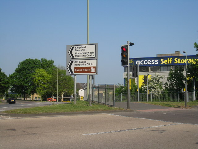 On the Reading Road roundabout