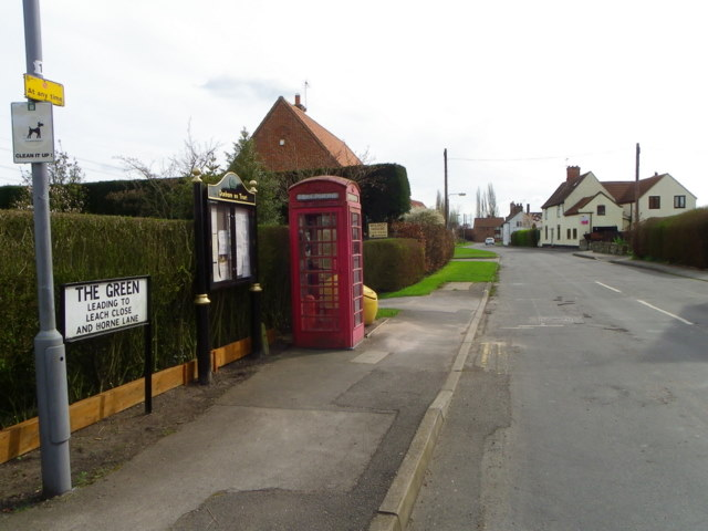 Village street, Dunham on Trent