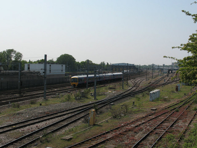 Trackwork between two railway depots