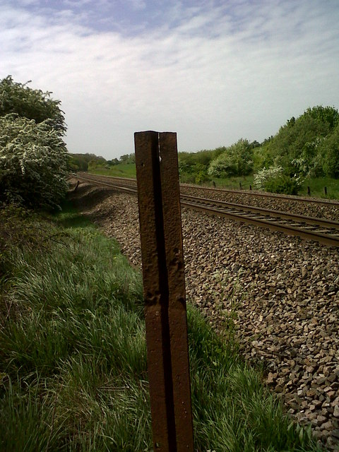 "Broad-gauge  ""Bridge Rail"""