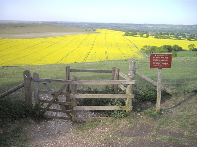 Kissing gate on Ashridge Estate