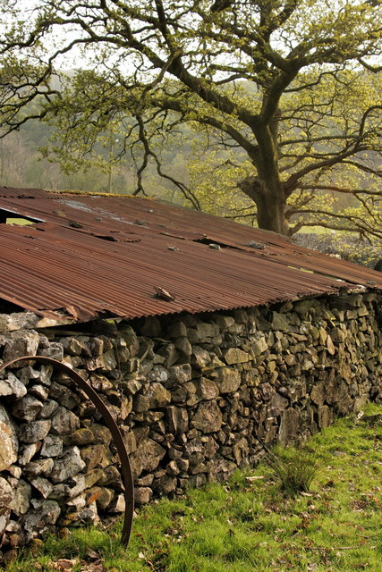 Barn at Hafod Dywyll Farm