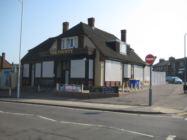 Newbury Park: The former County and former Horns Tavern