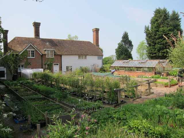 Garden nursery at Great Dixter