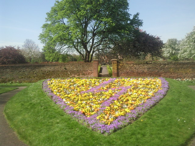 Flower display at Well Hall Pleasaunce