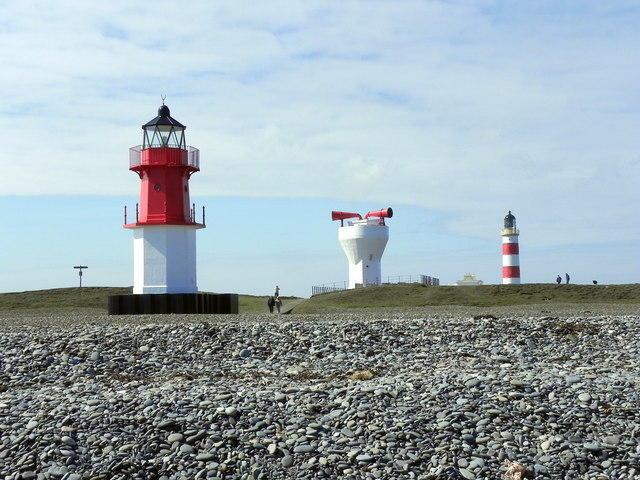 Point of Ayre Lighthouses