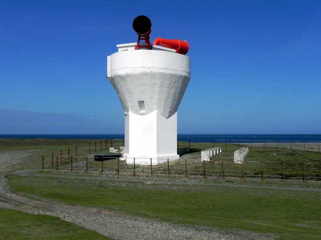 Foghorn at The Point of Ayre