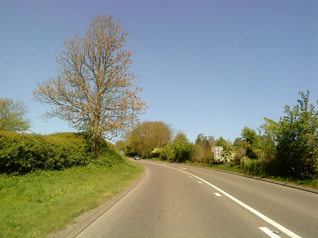A52 north of Mayfield