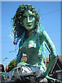 TQ8210 : Mermaid at Jack in the Green procession, Collier Road  by Oast House Archive