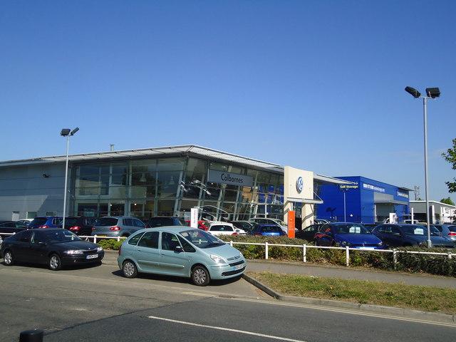 Colbornes Volkswagen Slyfield 169 Stacey Harris Geograph Britain And Ireland