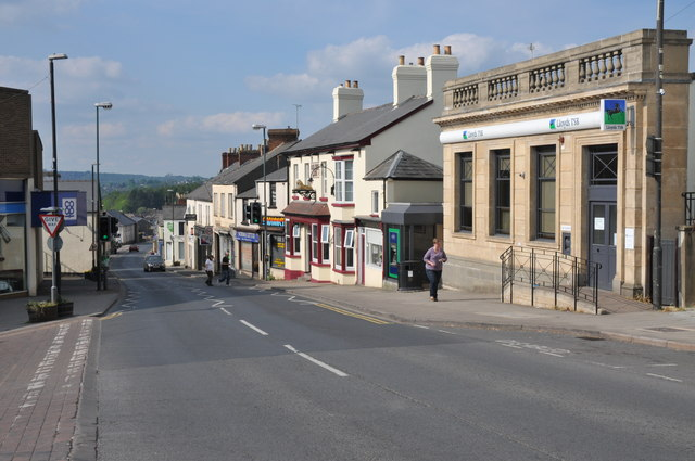 Cinderford High Street Philip Halling Geograph