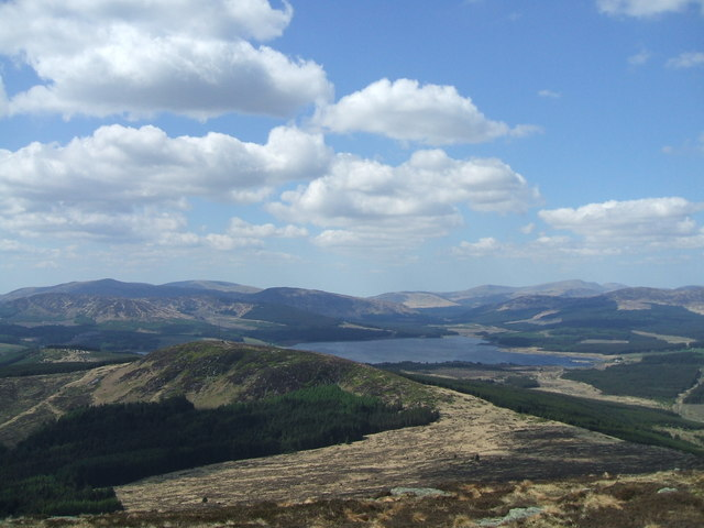 View from Cairnsmore of Dee