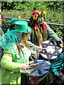 TQ8209 : Drummers at Jack in the Green by Oast House Archive