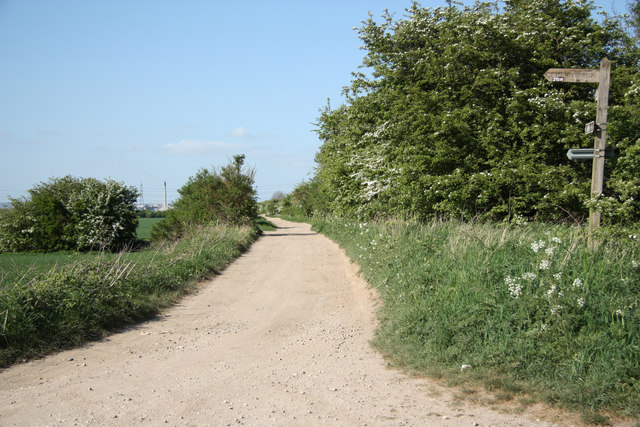 Track to Horkstow Bridge