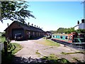 SJ5758 : The stables above Bunbury locks by Raymond Knapman