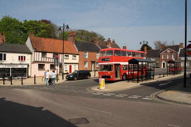 Beccles Bus Station Old Market Place 169 Glen Denny Cc By