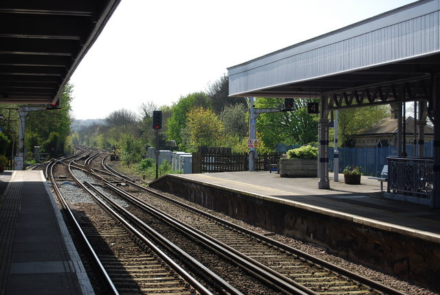 South Eastern Mainline through Orpington Station