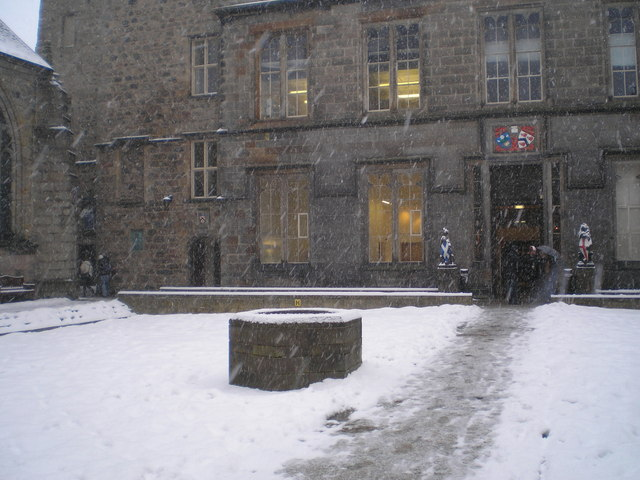 Blizzard in the Quad