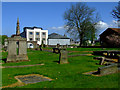 NS2776 : Inverkip Street graveyard by Thomas Nugent