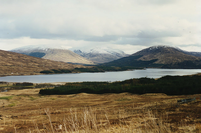 View towards Loch Tulla