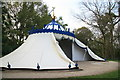 TQ0960 : Turkish Tent, Painshill Park by Chris Allen