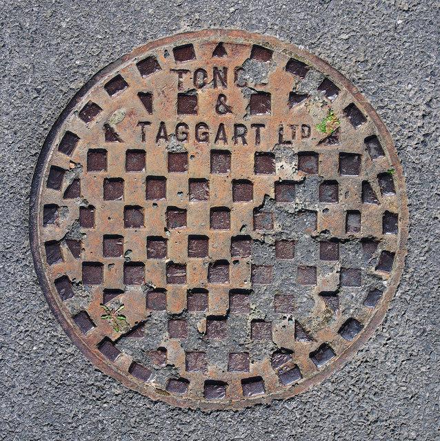 Manhole cover near Dunfanaghy