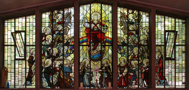 St Paul, Camden Square - Stained glass window