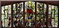 TQ2984 : St Paul, Camden Square - Stained glass window by John Salmon