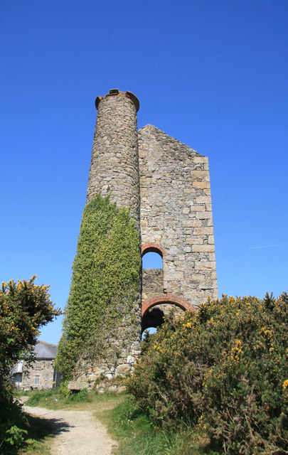 Dolcoath Mine, Wheal Harriett engine house