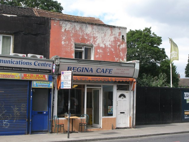 Regina Café, Lee High Road, SE13