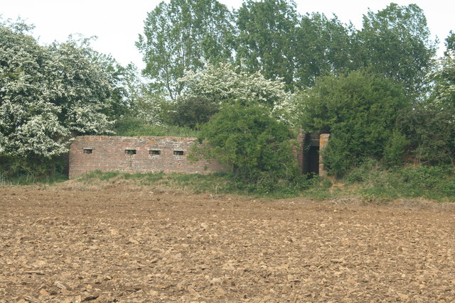 RAF Kingscliffe - Defended Fighter Pen