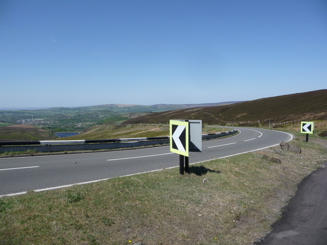 Snake Pass: heading over Coldharbour Moor