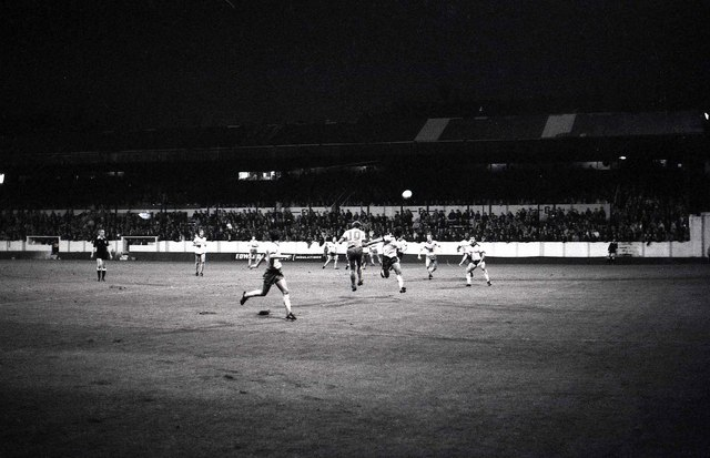 The Main Stand at Valley Parade in 1982