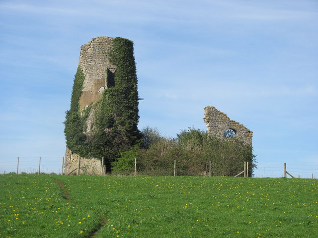 Ruins of old windmill