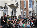 TQ8209 : Crowds on High Street by Oast House Archive