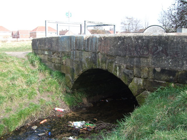 Bridge over Baguley Brook