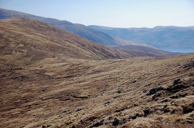 Bealach northeast of Sgor Choinnich