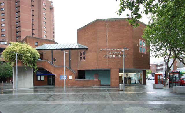 St John with St Andrew, 461 Kings Road, Chelsea
