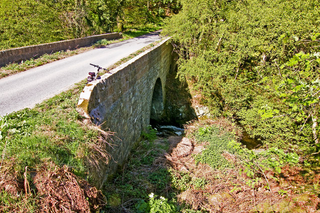 Bridge over the Burn of Sheeoch