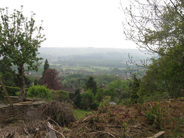 View from Darley Hillside