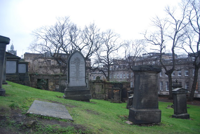 Graves, Calton Old Burial Ground