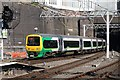 SP0786 : London Midland Train at Birmingham New St Station by Rob Newman