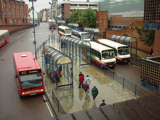 Worcester Bus Station 2004 Rob Newman Geograph Britain and Ireland