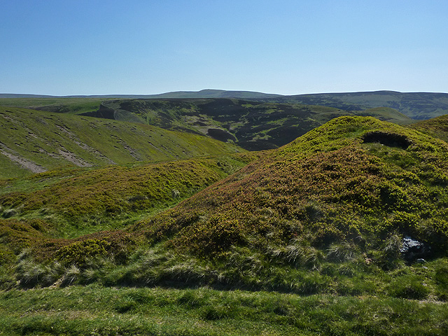 Hill fort on Blackbrough Hill
