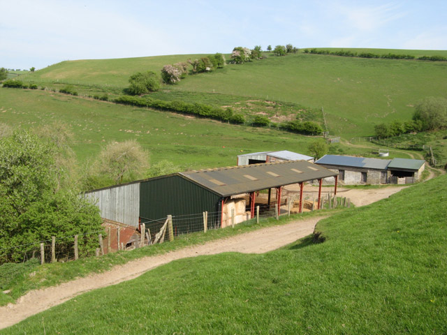 Farm buildings at Green