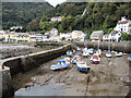 SS7249 : Lynmouth Harbour by John Jennings